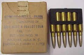 30 40 krag bandolier dated 1907 7 35 italian 15rds on clips